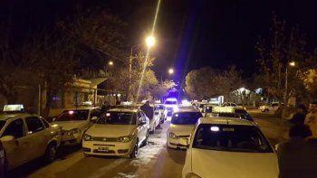 asaltaron a dos taxistas y ahora se niegan a ingresar a las tomas