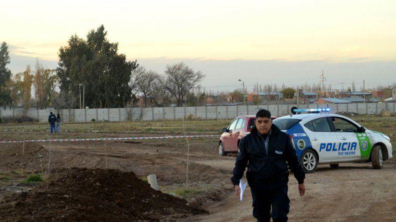 Hallaron el cuerpo de un joven enterrado en cercanías al hospital