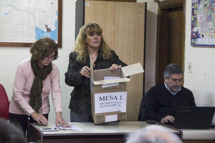Arrancó el escrutinio definitivo en Cipo en medio de chicanas