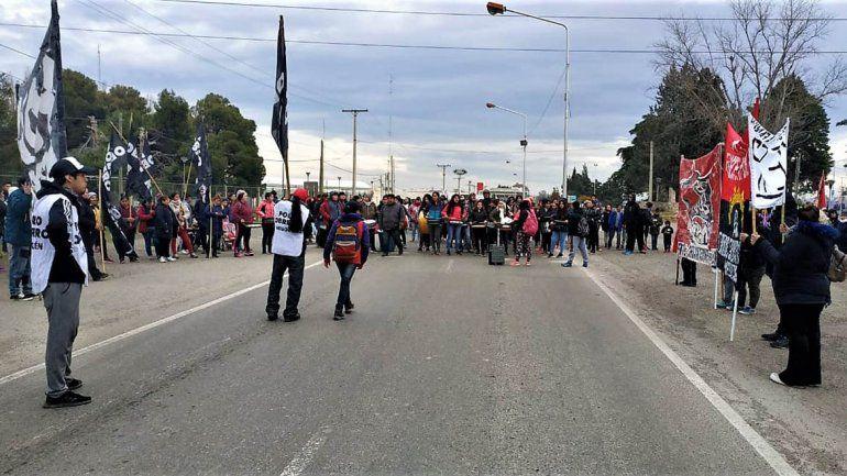 Jornada de lucha: levantaron los cortes en los accesos