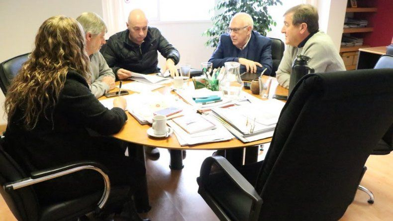 Tortoriello se reunió con representantes de la empresa Pehuenche