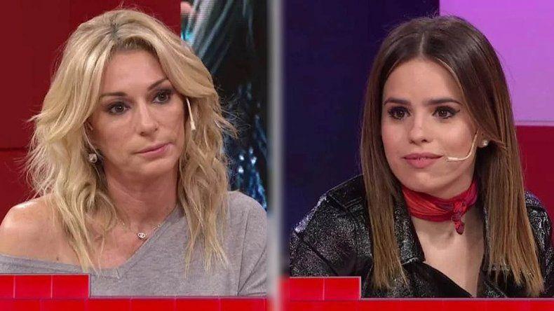 El cruce de Yanina Latorre y Sofi Morandi por el supuesto chape con Julián