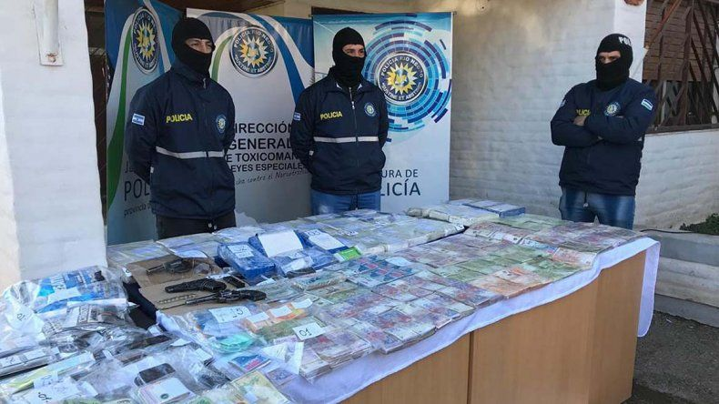 Desbaratan banda narco que operaba en el Valle: la droga venía desde el cártel de Sinaloa