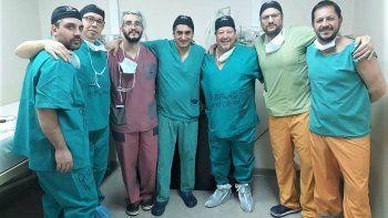 medicos del hospital cipoleno realizaron cirugias ineditas