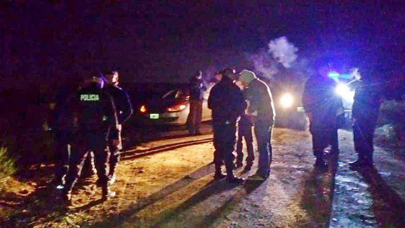 Se robaron un auto y quedaron presos al caer por un barranco en Bariloche