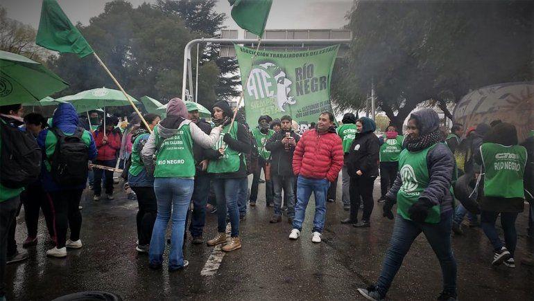 El gremio ATE sale a las rutas contra Portezuelo