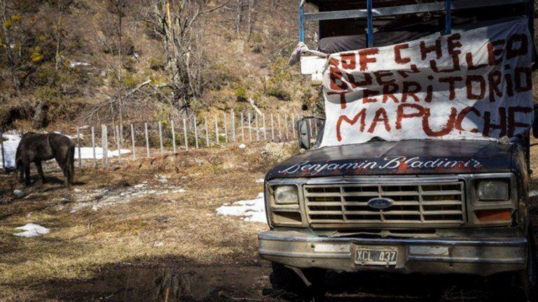 Intiman a una comunidad mapuche a desalojar un predio usurpado