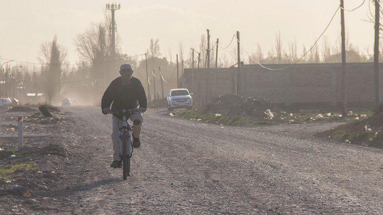 Emiten alerta por vientos intensos para Neuquén y parte de Río Negro