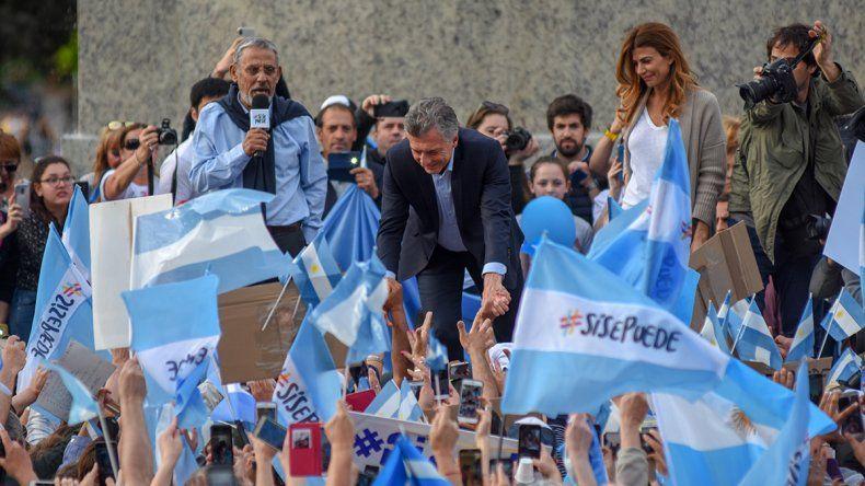El último discurso público de Pechi Quiroga en Neuquén fue con el presidente Macri