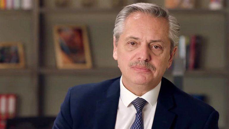 Alberto Fernández despidió a Pechi Quiroga