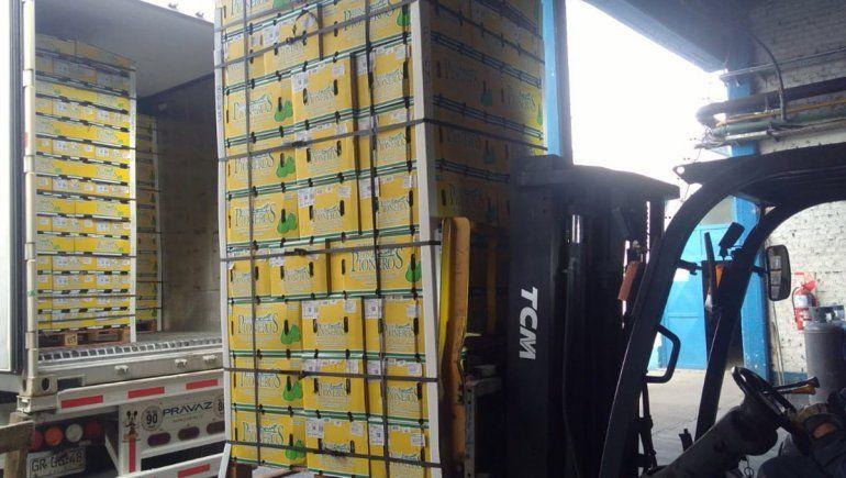 Cooperativa de la zona inició envíos de peras a Perú