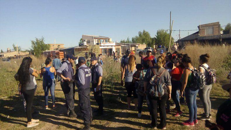 Nueva toma en la ciudad: usurparon un predio en las tierras a urbanizar