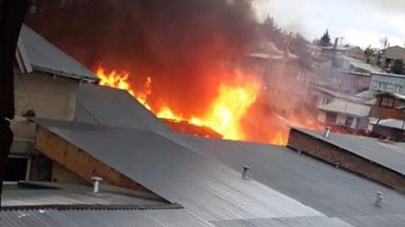 Un hombre de 94 años murió en un incendio en Bariloche