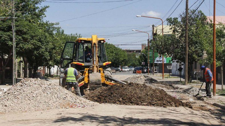 No planean asfaltar la calle Domingo Savio