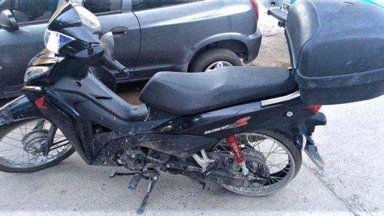 Robó una moto y protagonizó una persecución
