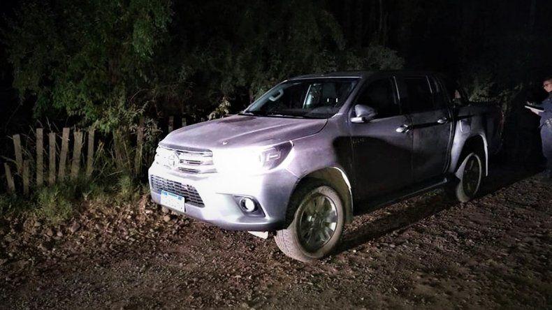 Le robaron la camioneta y la abandonaron a pocas cuadras con dinero adentro