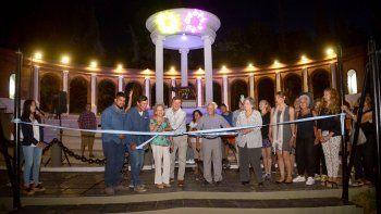 reinauguraron el anfiteatro del parque rosauer