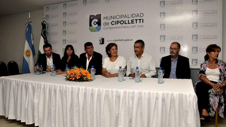 Firmaron el contrato para la construcción del edificio del futuro en Cipolletti