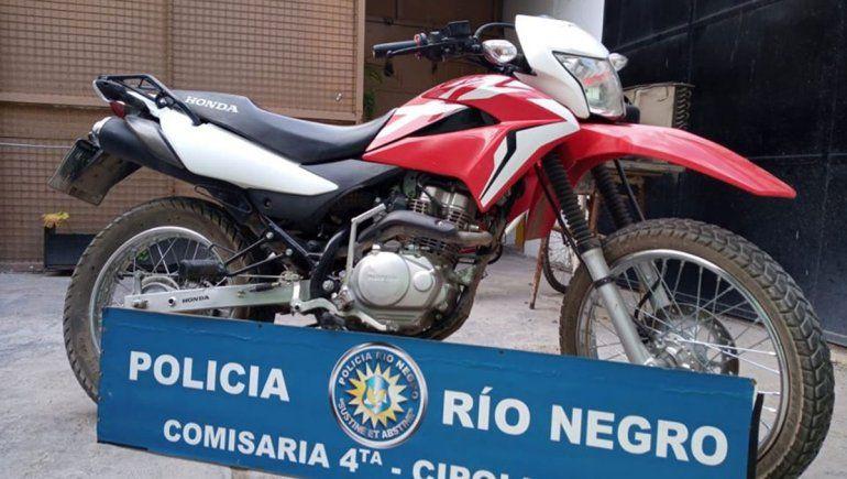 Siguen con secuestros de motos robadas hace varios años