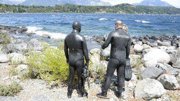 buscan a un kayakista ingles que habria caido al lago nahuel huapi