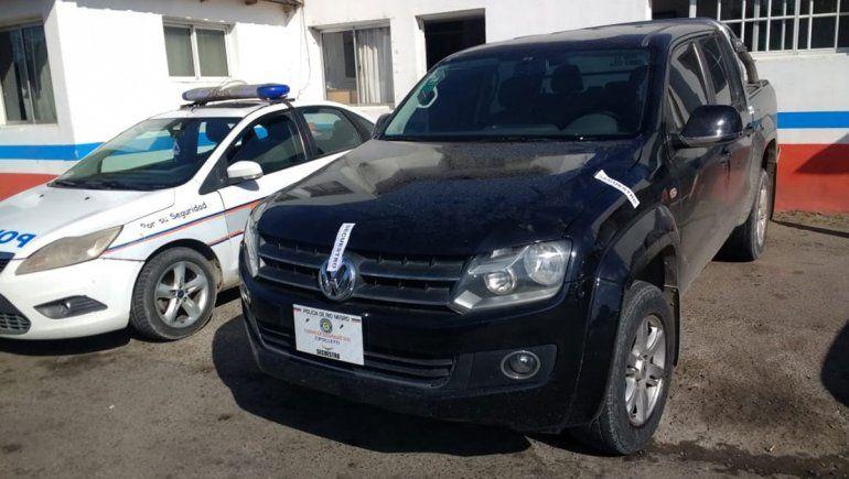 La Policía secuestró una Amarok flojita de papeles