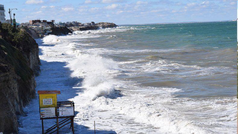 Las Grutas: se vienen días con mareas extraordinarias
