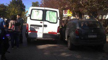 un hombre se robo una camioneta en el centro, choco y termino preso