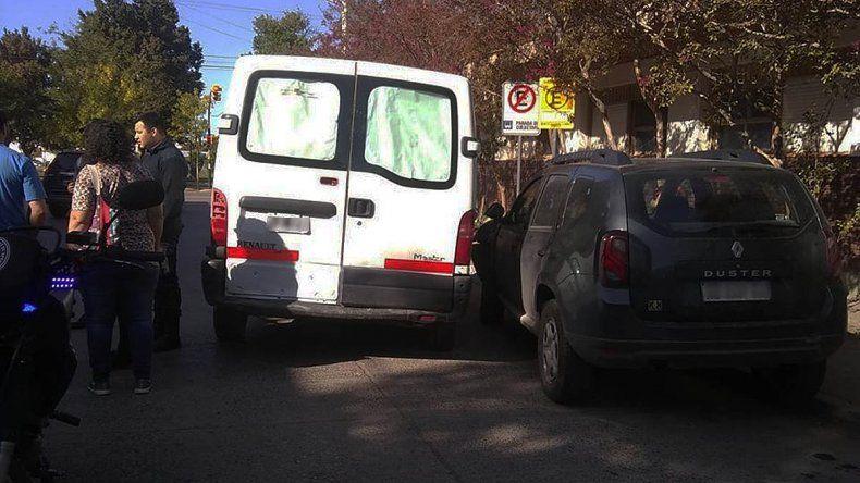 Se robó una camioneta en el centro, chocó y terminó preso