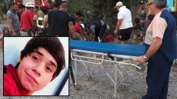murio cristian, el joven motociclista que habia chocado contra un poste