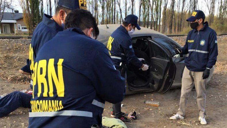 Tras una intensa persecución, atraparon a dos familiares de los Montecino con droga y efectivo