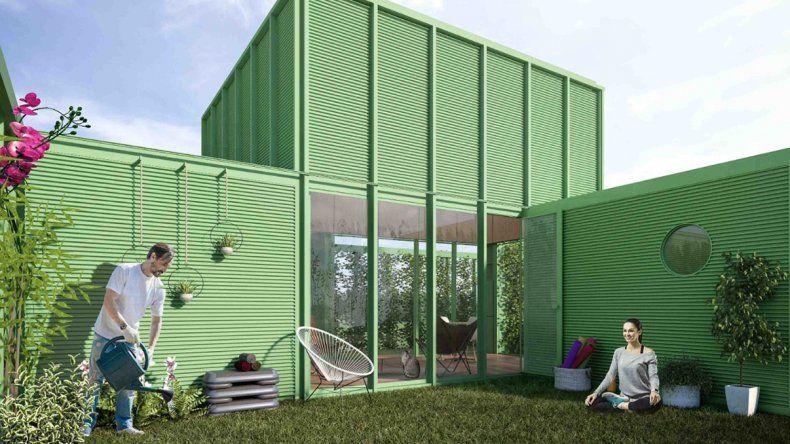 Graduados de la UFLO diseñaron la casa ideal para pasar la cuarentena