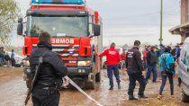 incendio fatal en el obrero: murio el papa de aldana