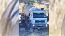 camion municipal arrojo liquidos al rio ¿que era?