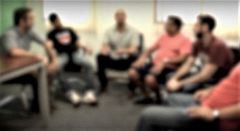Parte del tratamiento es un grupo de reflexión. (Imagen ilustrativa).