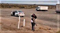 el perro que viajo 450 kilometros en taxi para encontrarse con su duena