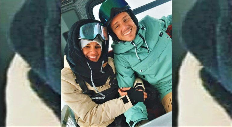 Gastón Gaudio y su novia llegaron a Bariloche el mes pasado y hubo polémica.