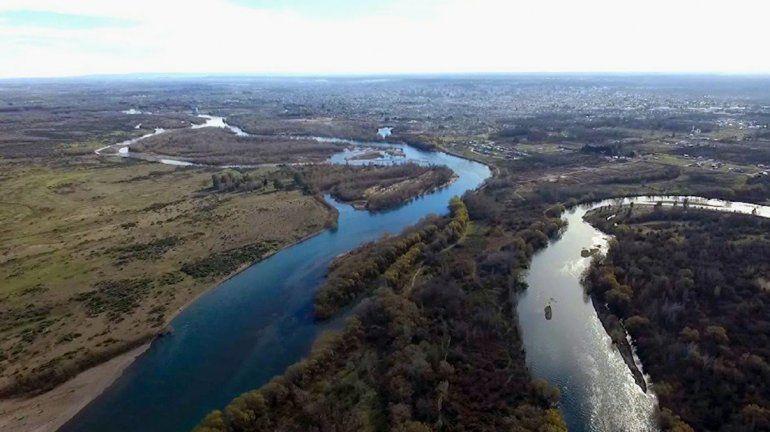Se espera un importante aumento en el caudal del río Negro