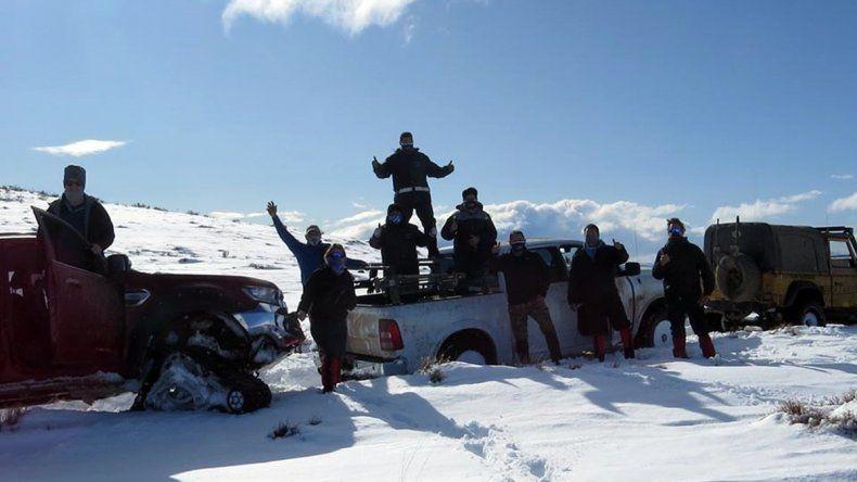 Wildtrak, el grupo de amigos que hizo lo imposible en la Línea Sur