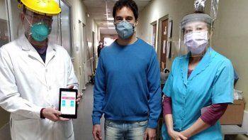 desarrollaron app que mejora la atencion a pacientes covid
