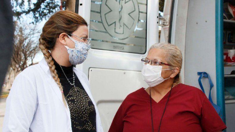 La enfermera que postergó su jubilación para enfrentar al coronavirus