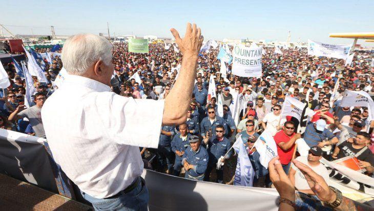 Pereyra en Añelo: blindaje a Vaca Muerta, paz social y diálogo permanente