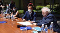 gutierrez resalto el trabajo conjunto y destaco los acuerdos alcanzados