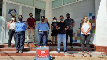 Policía se reunió con repartidores de Pedidos Ya por la inseguridad