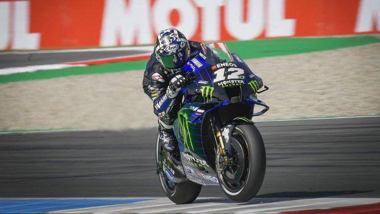 Viñales logró la pole position del Moto GP en el circuito de Assen