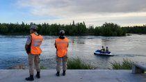 continuan los rastrillajes para dar con el joven desaparecido en rio grande