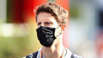 Romain Grosjean dejó el hospital de Bahréin y apuesta a correr la última fecha de la F1.