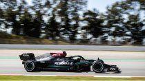 Lewis Hamilton y Mercedes fueron la referencia de la Fórmula 1 en el comienzo del GP de España