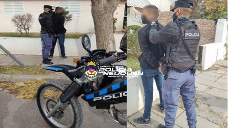 En el barrio Gregorio Álvarez detuvieron a un joven sobre el que recaía un pedido de captura por lesiones graves.