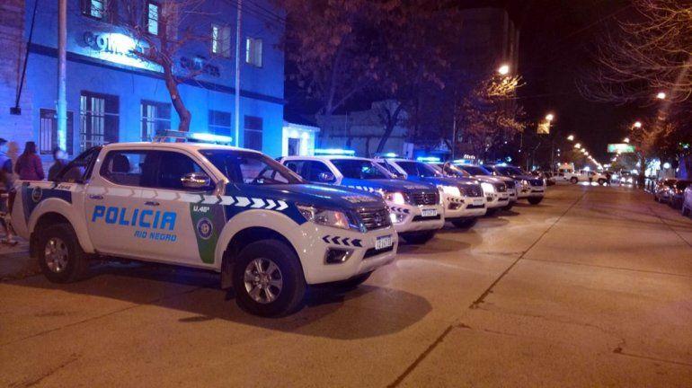Cipolletti: la Policía desactivó una fiesta en un departamento céntrico