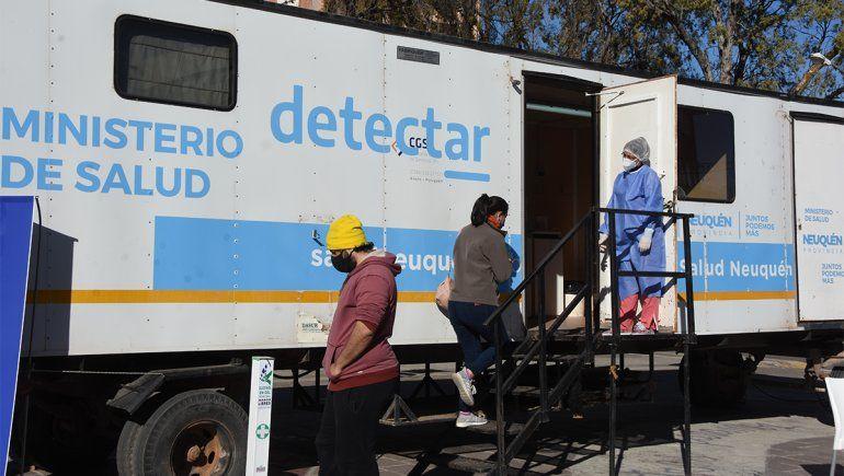 Buscan más casos con el plan DetectAR en la zona del centro